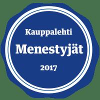 Kauppalehti menestyjät 2017 logo