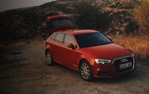 Punainen Audi